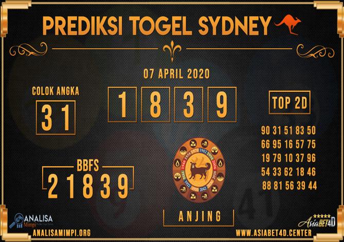 PREDIKSI TOGEL Sydney ASIABET4D