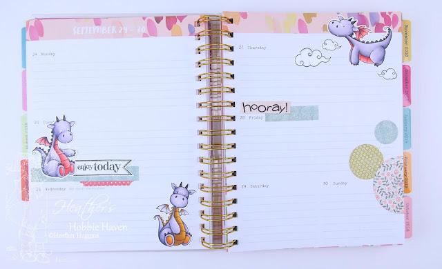 Heather's Hobbie Haven - Planner Embellishment September 24-30
