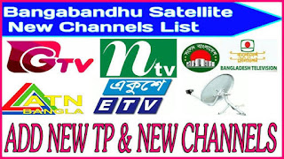 New Satellite Bangabandhu 119e Updated Channel & Frequency List 2019