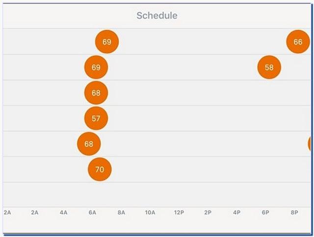 Nest thermostat programming schedule