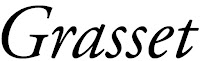 Les éditions Grasset, partenaires de Mally's Books.