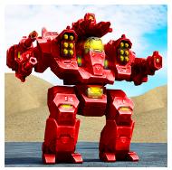 Mech Robot War 2050 v1.3 Mod Apk (Unlimited Money + Gold)