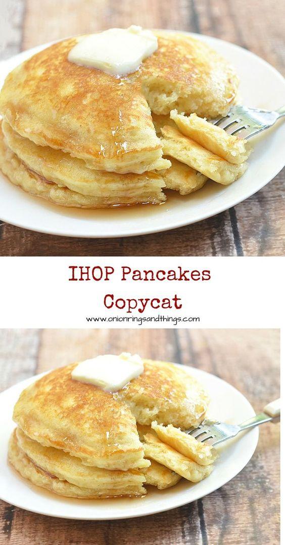 IHOP Pancakes Copycat #ihop #pancakes #cake #cakerecipes #copycat #tasty #tastyrecipes #delicious #deliciousrecipes