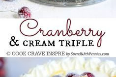 Cranberry Trifle Recipe