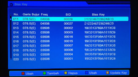 Format Penulisan Biss Key di Matrix Sinema HD