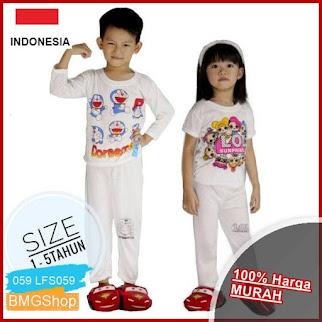 LFS059 Setelan Izany Piyama Anak Kaos BMGShop