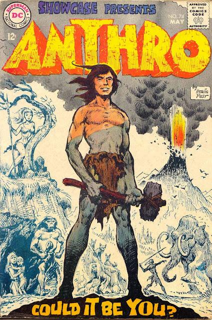 Showcase v1 #74, 1968 dc silver age comic book cover - 1st Anthro