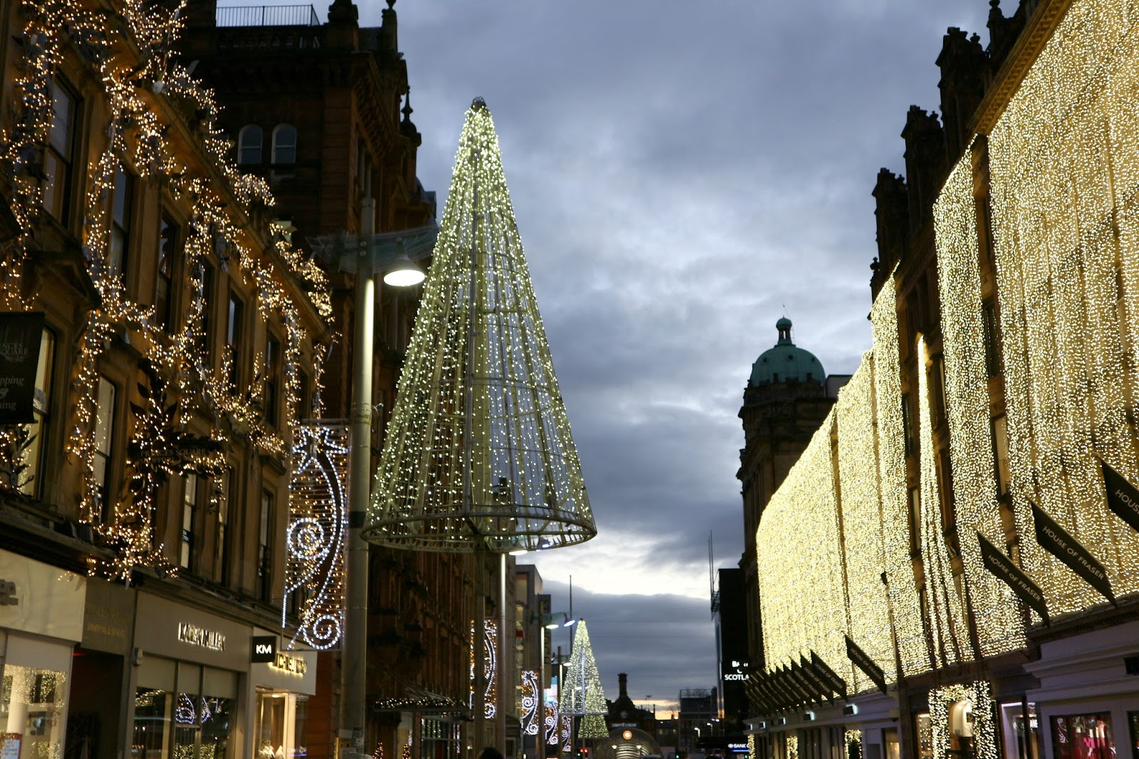 Christmas Shopping Glasgow