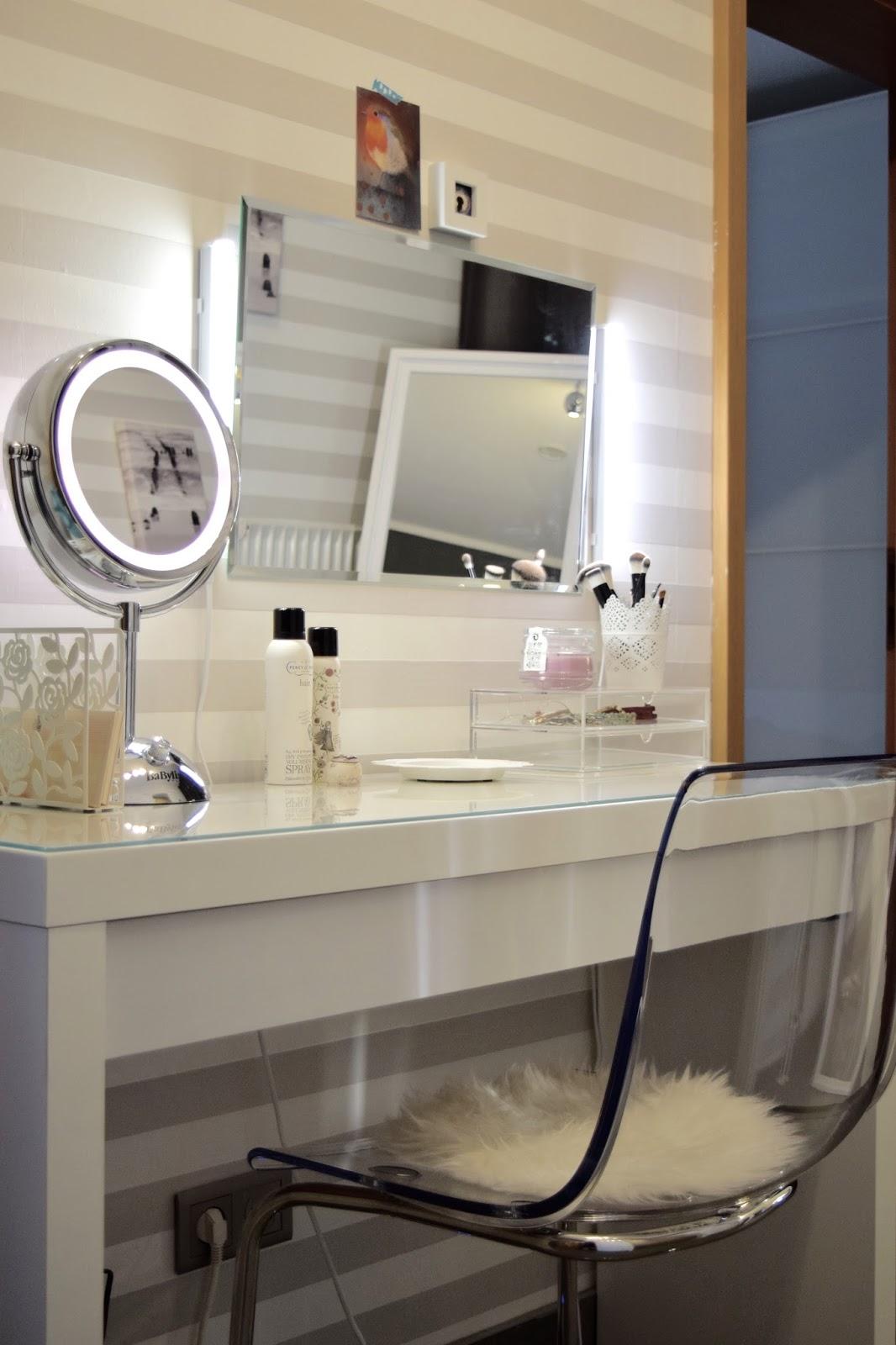 zimtzebra das richtige licht f r meinen schminktisch. Black Bedroom Furniture Sets. Home Design Ideas