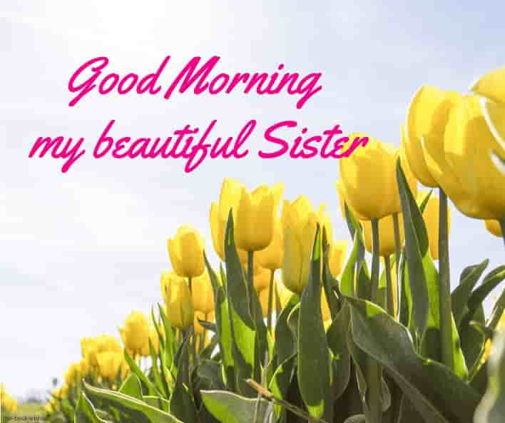 good morning my beautiful sister
