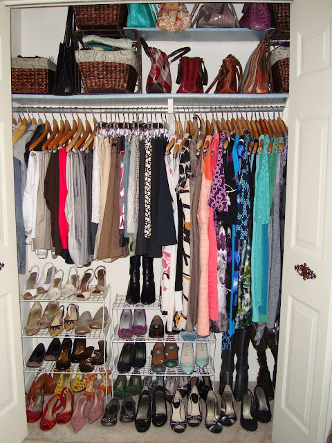 An organized clothes closet   www.andersonandgrant.com