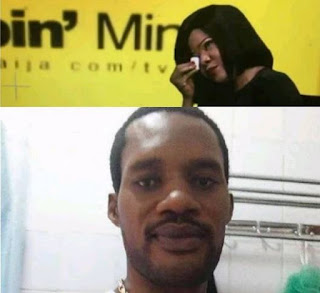 Toyin Abraham breaks down on live tv