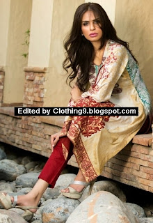 Maheen embroidered kurti collection 2015