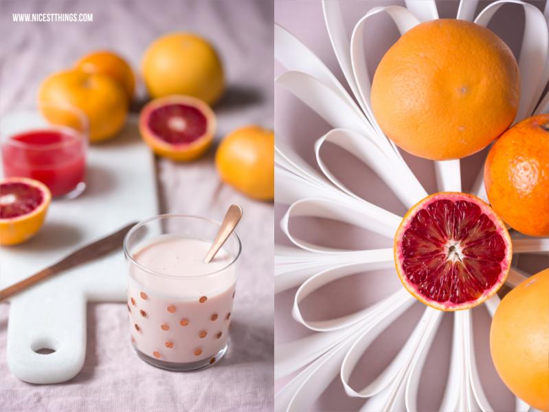 be&liv Obstschale Petals und Blutorangen Drink #beandliv #petals #design #obstschale #blutorangen