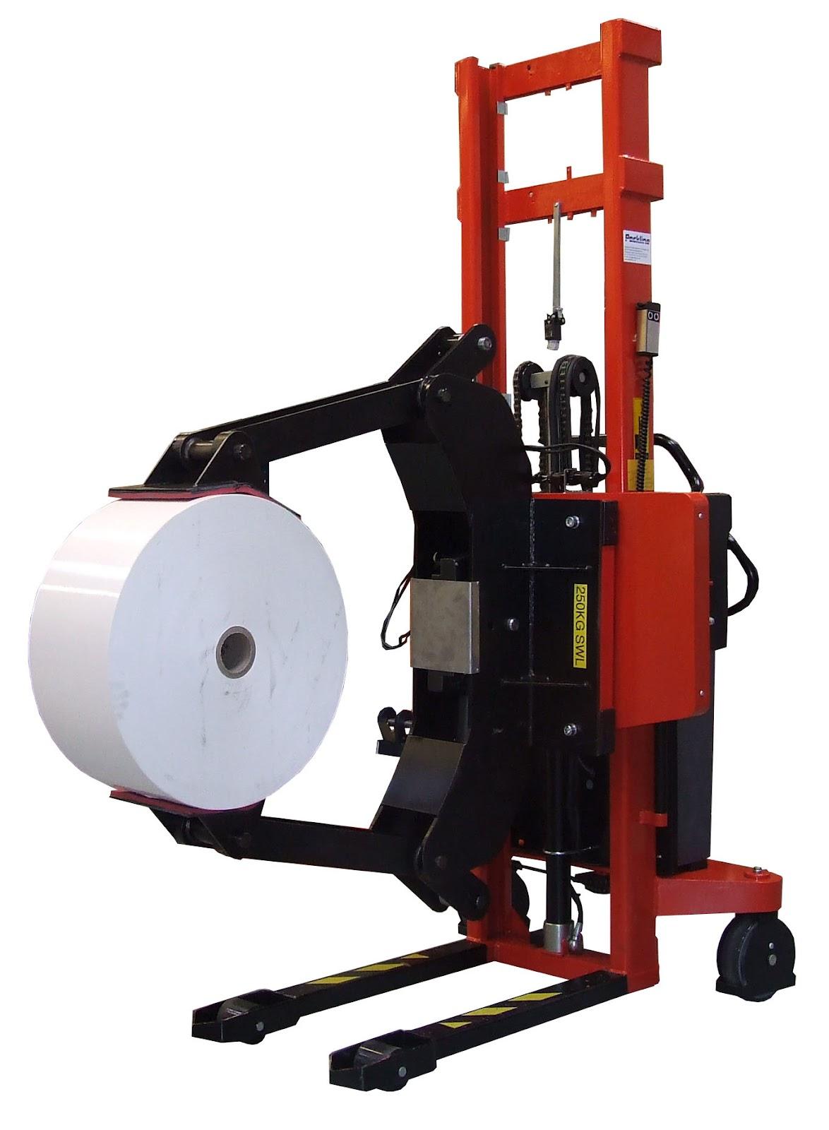 Packline Materials Handling Heavy Duty Reel Clamp
