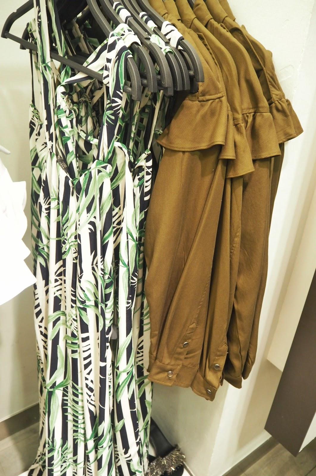 Zara - leaves tropical jumpsuit