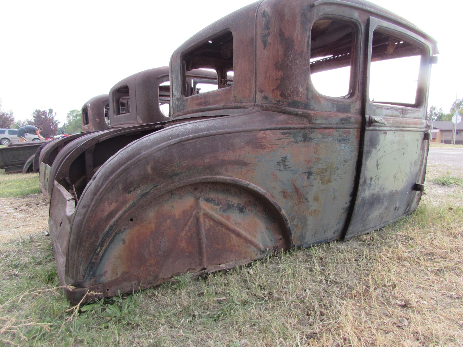 For sale 1930 31 ford coupe body i saved the best for last this coupe is very straight and almost complete it has all garnish moldings except the rear