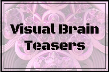 picture relating to Visual Brain Teasers Printable identified as Visible Thoughts Teasers Primary Web site-Entertaining With Puzzles