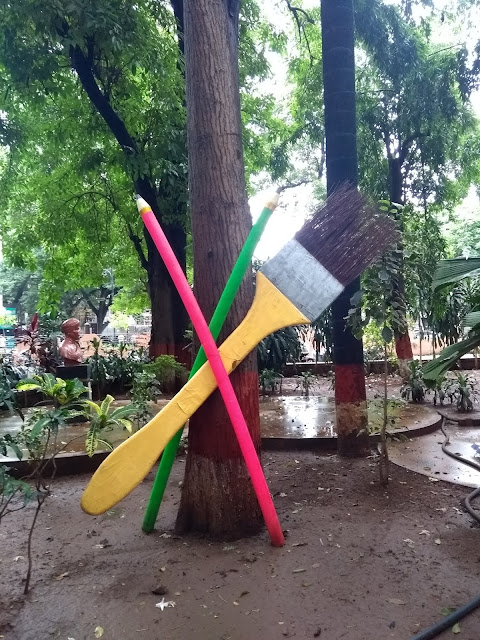 Tree, Paint brush, Pune