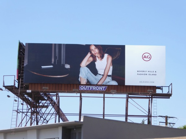 AG Jeans Summer 2017 billboard