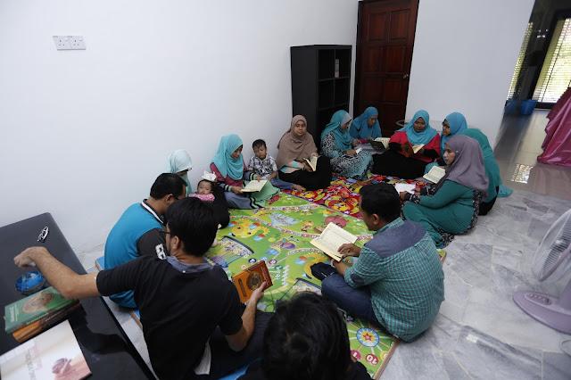 Aktiviti Perjumpaan Blogger di 1st EFG Gathering #1stEFGathering | Bacaan Yassin, Doa Selamat dan Tahlil