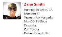 #ARCA Driver Zane Smith