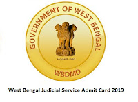 West Bengal Judicial Service Admit Card