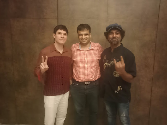 "A rendezvous with actor-singer Luke Kenny and the director of ""Rockumentary"" Abhimanyu Kukreja"