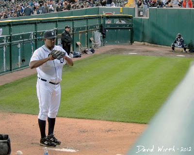 jose valverde, detroit tigers, relief pitcher, warming up, bullpen