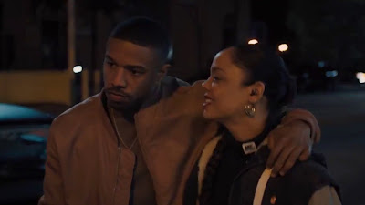 Tessa Thompson & michael b jordan HD Photos In creed 2
