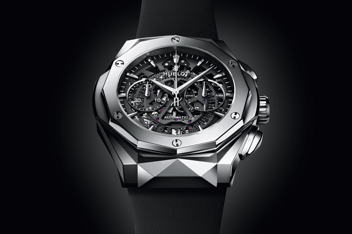 hublot classic fusion aerofusion chronograph orlinski titanium time and watches. Black Bedroom Furniture Sets. Home Design Ideas