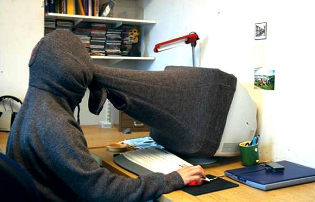 privacy scarf - useless invention