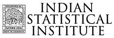 ISI Kolkata Recruitment 2014 isical.ac.in Advertisement Notification Assistant Professor posts