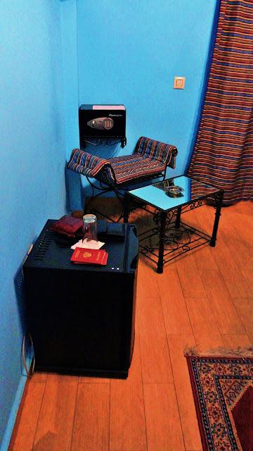 Изображение угла номера в отеле, Касабланка