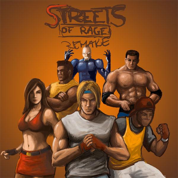 do remake de um dos melhores jogos de uma geração, Streets of Rage