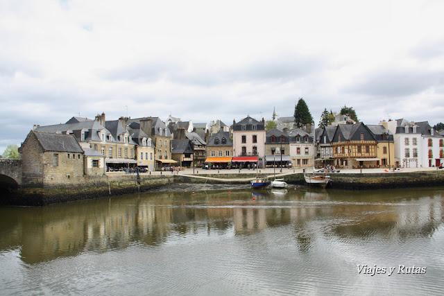 Auray, Bretaña, Francia
