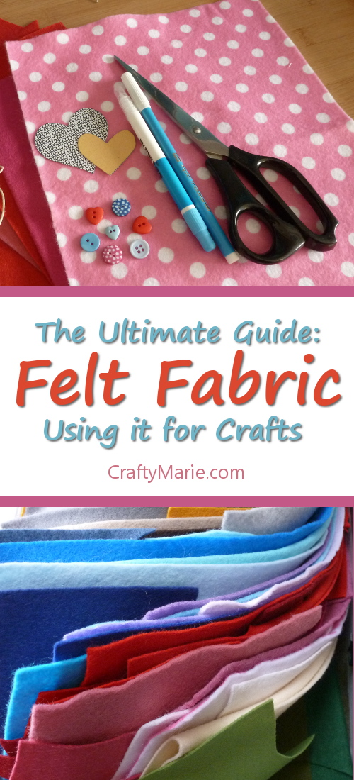 Tons of advice, tips, information on using craft felt fabric in your crafts. Massive guide.