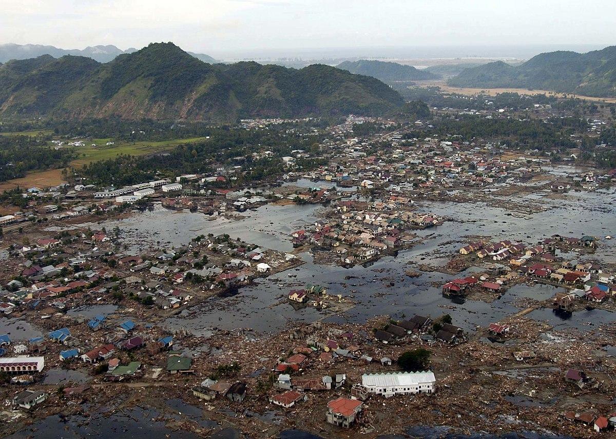 Tsunami no Oceano Índico