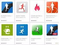 App per correre, di corsa o in bicicletta, Android e iPhone