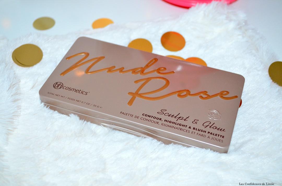 palette conturing - conturing - poudre de soleil - poudre visage - bh cosmetics