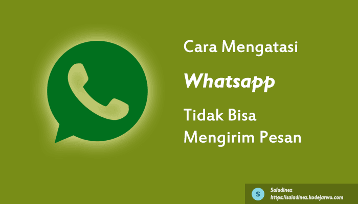 8 Cara Mengatasi Whatsapp Tidak Bisa Mengirim Pesan & Selalu Pending