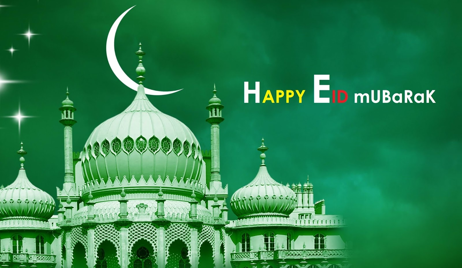 Blessing Eid Mubarak 2016 WallPaper Download Free Wallpaper