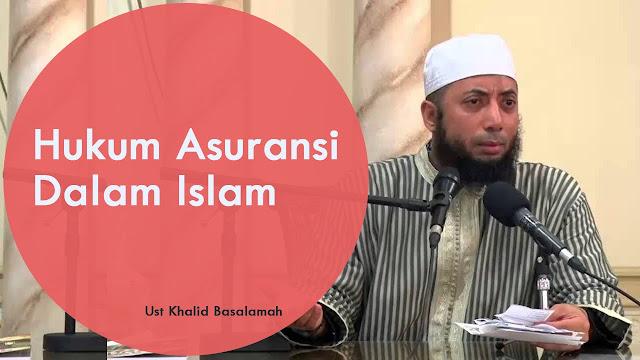 Hukum asuransi menurut pandangan islam