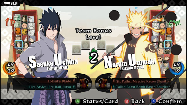 Naruto Impact MOD Ultimate Ninja Storm 4 v4.0 Apk Terbaru