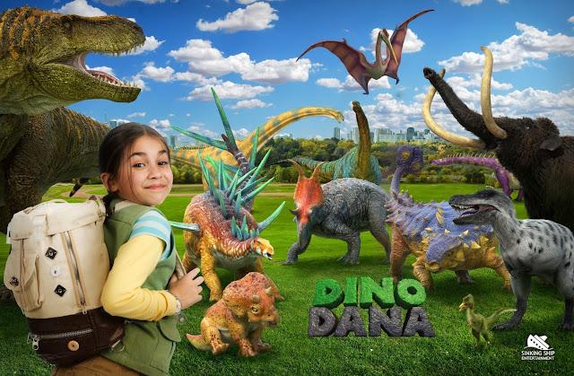 Nat Geo Kids adquire direitos da produção de DINO DANA para o Brasil e América Latina