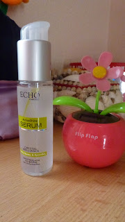 echo shine serum