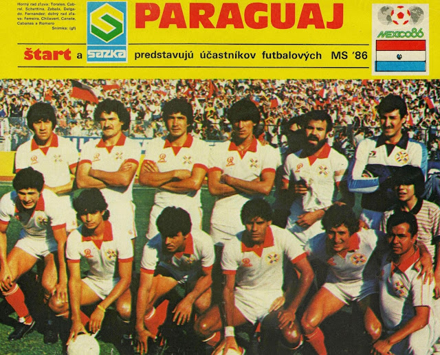 Formación de Paraguay ante Chile, Clasificatorias México 1986, 17 de noviembre de 1985