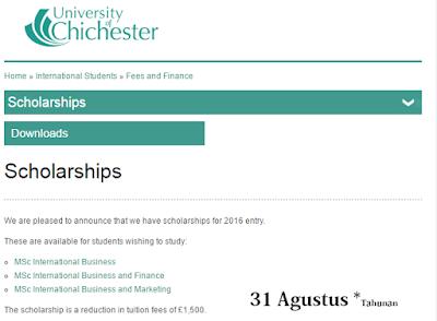 Beasiswa Bisnis Britania Raya