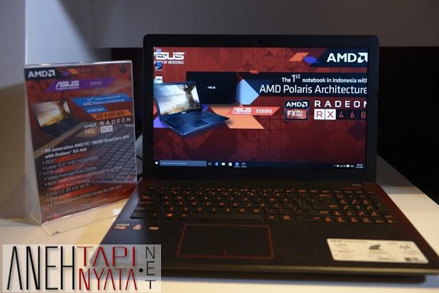 Asus X550IU Notebook Gaming Premium Murah Setara Desktop