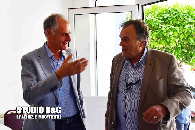 Ο Γ.Γ. του Υπουργείου Εργασίας Ανδρέας Νεφελούδης στο Ναύπλιο για τις νέες ρυθμίσεις των δανείων για τις Εργατικές Κατοικίες (βίντεο)